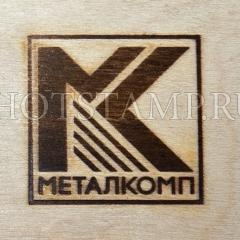 Термоштамп для маркировки тары из дерева