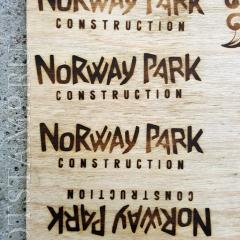 Термоклеймо для брендирования деревянных детских площадок